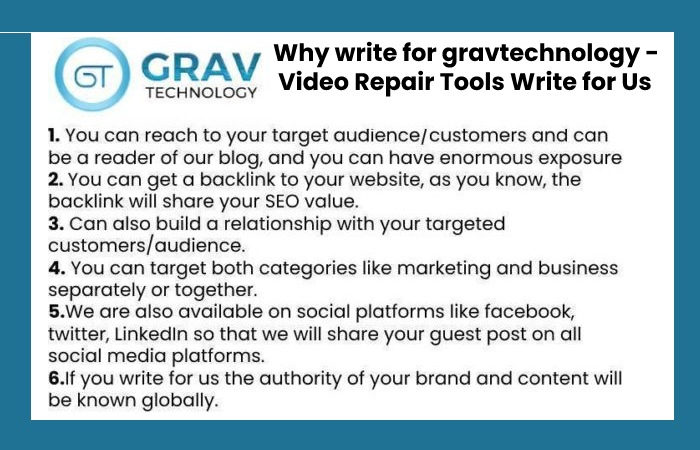 why to write for grav technology
